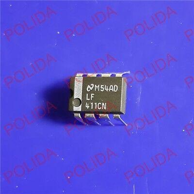 5PCS JFET OPERATIONAL AMPLIFIER IC NSC DIP-8 LF411ACN LF411ACN//NOPB