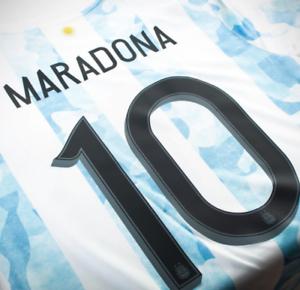Maradona Argentina Home Camisa 21-22 - versión jugador Adidas Oficial (Pregunte a tamaño)