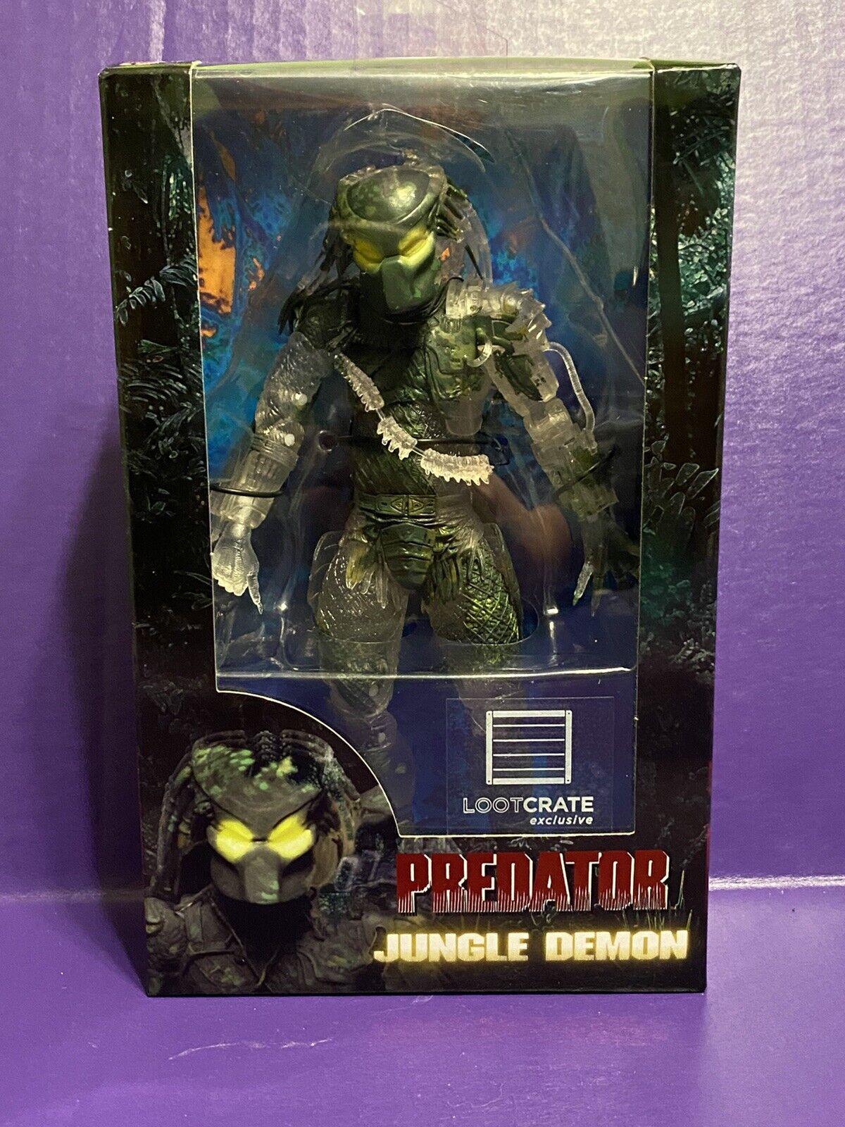 """7/"""" Action Figure NECA Predator Jungle Demon 30th Anniversary Collection New"""