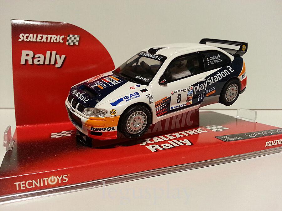 Slot SCX Scalextric 6249 Seat Cordoba E2 WRC A.Crivillé   J.Muntada Nº8
