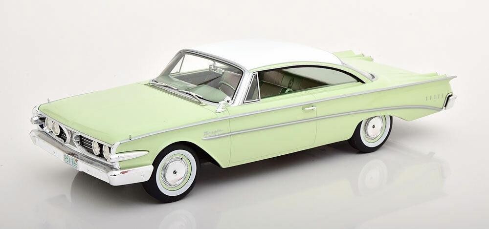 1960 Ford Edsel Ranger Hardtop vert clair par BoS Modèles LE252 échelle 1 18 NOUVEAU