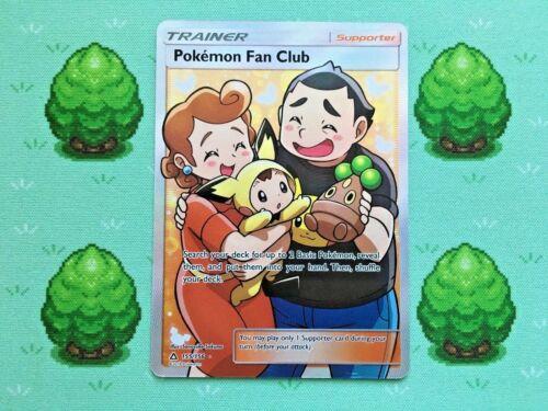 SM Ultra Prism Full Art Pokemon Fan Club Pokemon 155//156