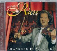 CD ALBUM 15 TITRES--ANDRE RIEU--CHANSONS POPULAIRES--1999