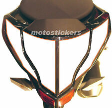 DUCATI  STREETFIGHTER - Tabelle adesive bicolore codino - racing decals