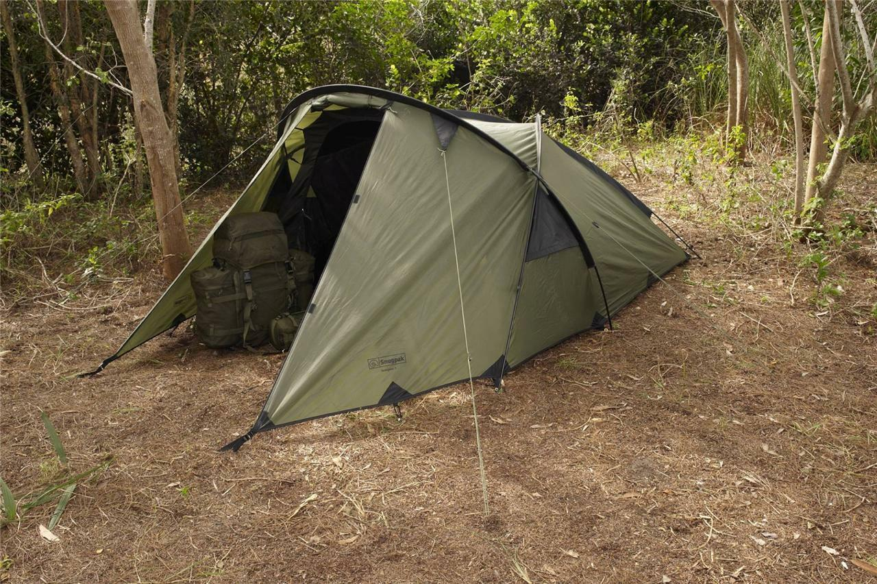 Snugpak Scorpion 3 Olive Tent Tactical DAC Poles 92880 3 Man Outdoor Camping