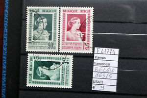 FRANCOBOLLI-BELGIO-USATI-N-863-65-F41774