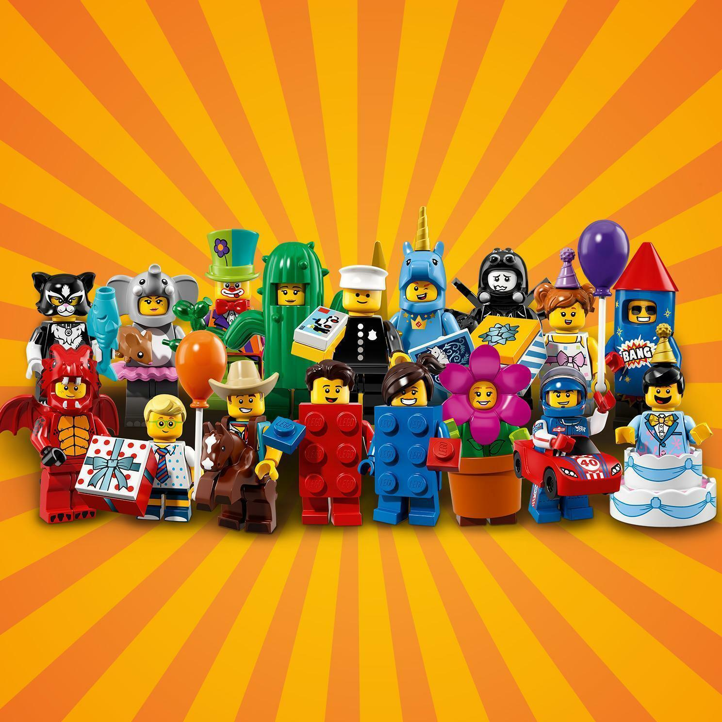 LEGO MINIFIGURES SERIES 18 PARTY 71021 GENUINE        buy 3 get 1 free