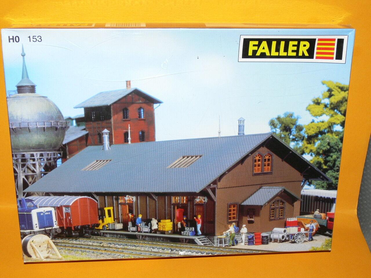 Faller Faller Faller - Güterschuppen - 1 87 H0 - Nr. 153 - Neu&Ovp 6780c3