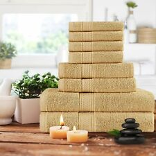 Towel Set 8 Piece Set - 2 Bath Towel 2 Hand Towel 4 Washcloth Utopia Towels