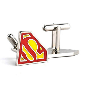 DC-Comics-Superman-Cufflinks