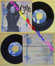 LP 45 7'' NATALIE COLE Miss you like crazy Good to be back 1989 no cd mc dvd