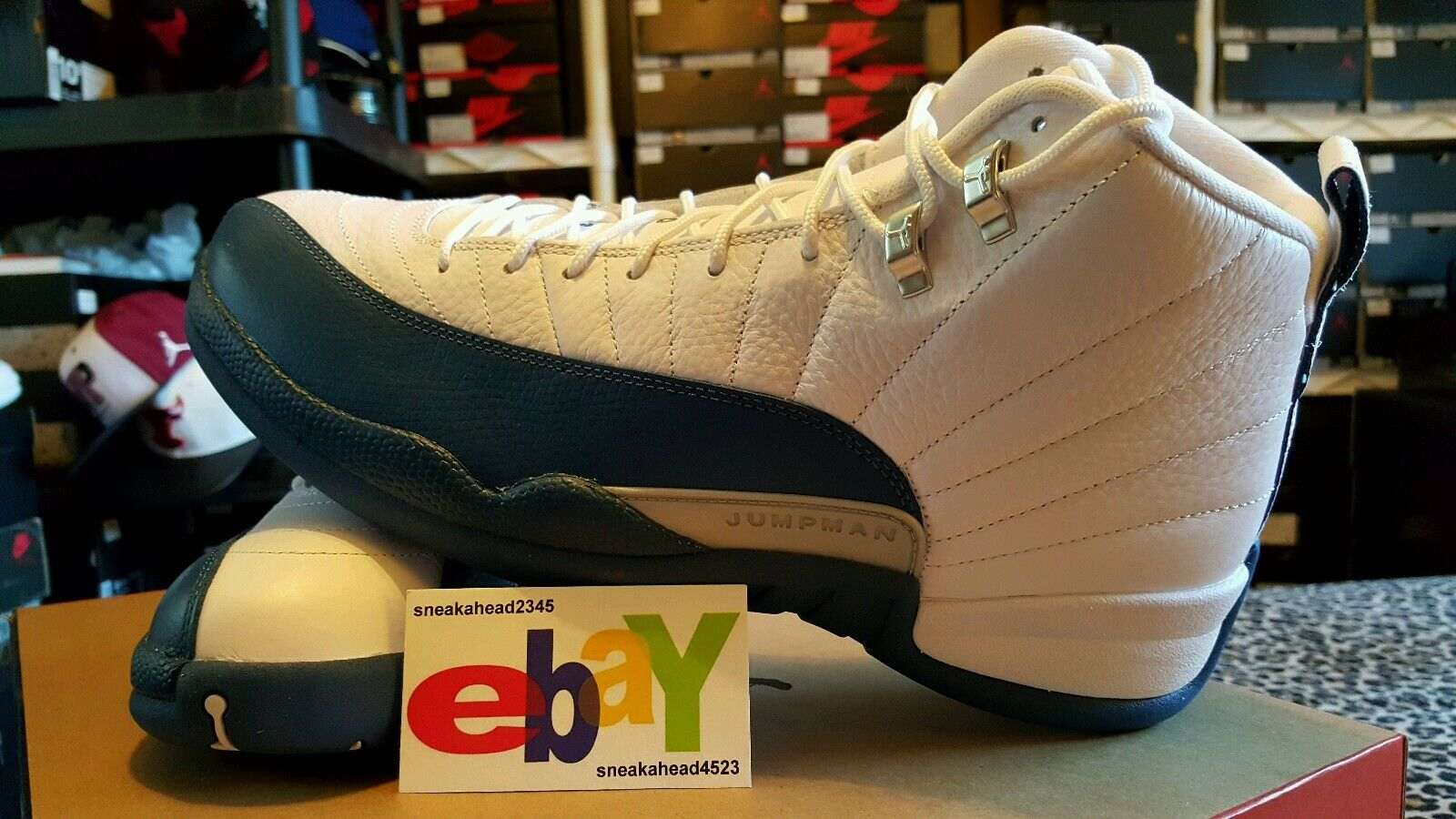 Air Jordan 12 XII Retro OG 2016 French bluee 2017