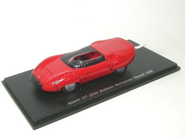 Abarth OT 2000 Bialbero Monoposto Record 1965 (Red)