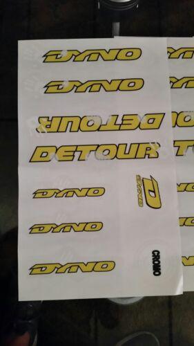 Dyno Detour Decals
