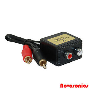 novosonics gl 3 mini ground loop isolator noise suppressor. Black Bedroom Furniture Sets. Home Design Ideas
