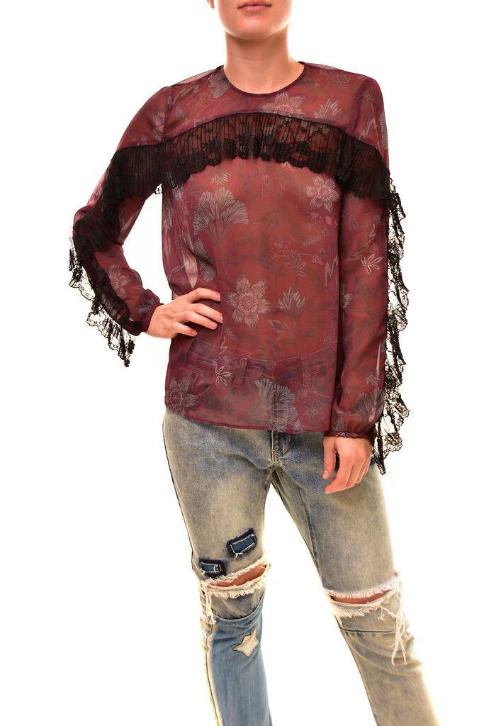 Stevie May Woherren Loose Long sleeve Top Multi Größe S RRP  BCF86
