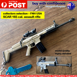PUBG-SCAR-Keyring-Combat-Assault-Rifle-Gun-FN-SCAR-Keyring-SCAR-Gun-Model-SCAR
