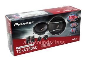 Pioneer-TS-A1306C-150-Watts-5-25-034-2-Way-Car-Component-Speaker-System-5-1-4-034-New
