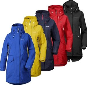 Details about Didriksons Thelma Womens Parka Waterproof Longer Length Coat