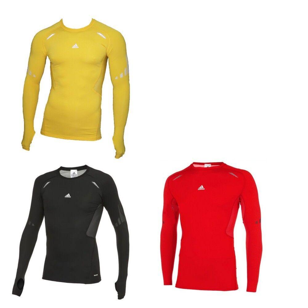 Adidas TechFit Preparation Longsleeve Kompressionsshirt Fitness Laufshirt  | Um Eine Hohe Bewunderung Gewinnen Und Ist Weit Verbreitet Trusted In-und
