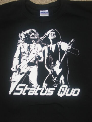 Status Quo francis rossi Shirt Choose Your Size S//M//L//XL Original Designs