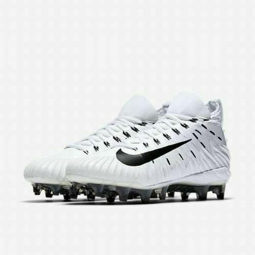 76d3ef78421 Size 11 Nike Alpha Menace Elite White   Black Football Cleat 871519 101 for  sale online