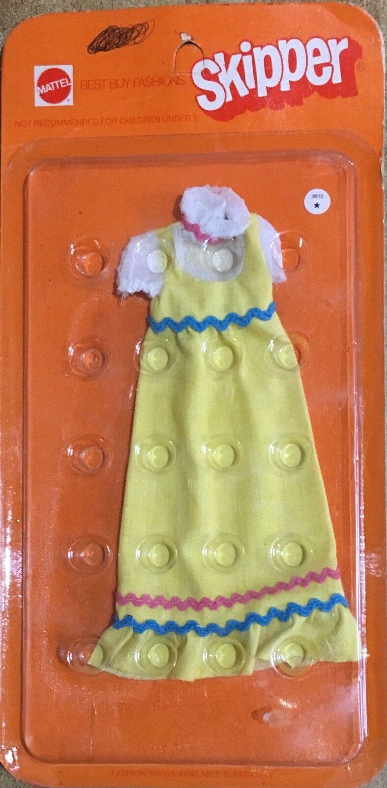 Barbie Barbie Barbie Skipper Mattel Outfit Vestito Vintage 1972' RARO 450ee0