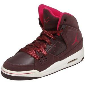 6eb27593ac1 439655-601 Nike Girl s Jordan SC-1 GS Deep Burgundy Sizes 4.5-6.5 ...