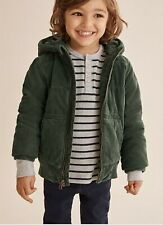 Country Road size 6-7 green cord puffer jacket