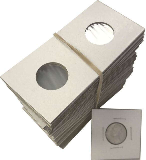 100 Assorted-YOU PICK 2X2 Cardboard//Mylar Coin Holders Flips-PREMIUM QUALITY