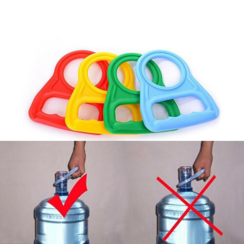 CO/_ AU/_ Bottled Water Pail Bucket Easy Carry Holder Lifting Handle Grip Tool GT