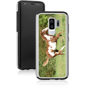 For-Samsung-Galaxy-S7-S8-S9-S10-Note-8-9-Shockproof-Hard-Case-1146-Paint-Horse