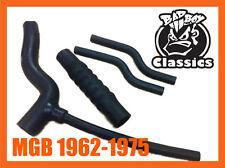 MGB 1962-1975 Chrome Bumper Hose Set Kit High Quality Reinforced