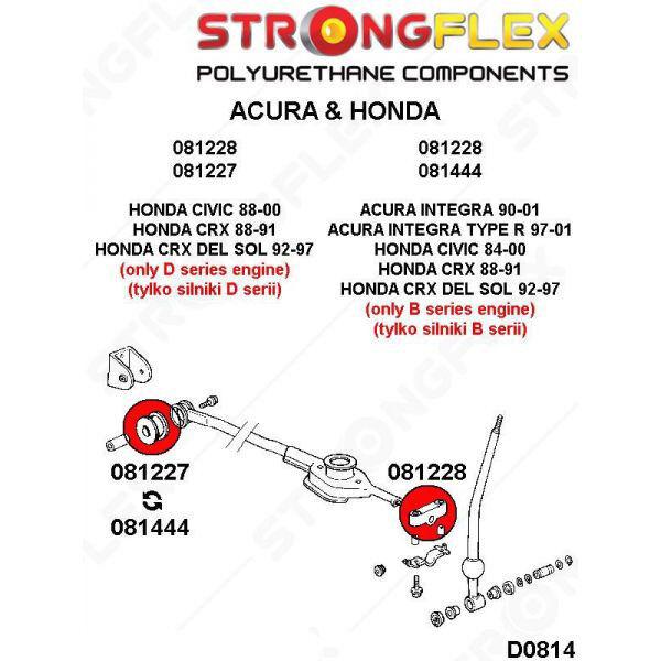 54303-SF4-000 Honda silent bloc de stabilisateur de levier de vitesses SPORT