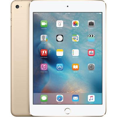 Brand New Apple iPad mini 4 128GB, Wi-Fi, 7.9in - Gold - 1 Year Apple Warranty