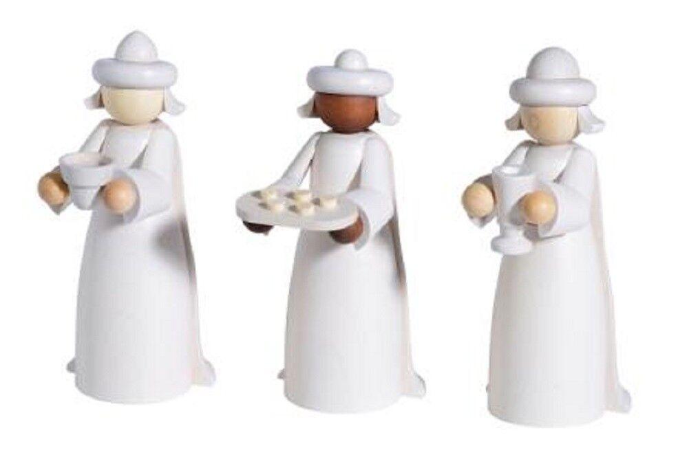 Weihnachtsdekoration Weihnachtsdekoration Weihnachtsdekoration Erzgebirge Weihnachten Deko Figur Heilige drei Könige 11 cm | Qualität  0805fd