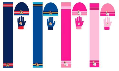Gloves And Scarf Set Boys Girls Kids Official Secret Life Of Pets Winter Hat