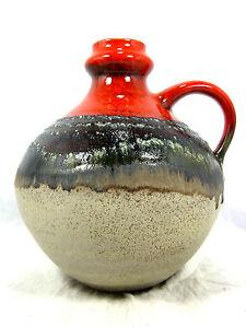 "Beautiful glazed 70 s design Jasba "" Lava "" Keramik pottery Vase 905 12 23 - Wuppertal, Deutschland - Beautiful glazed 70 s design Jasba "" Lava "" Keramik pottery Vase 905 12 23 - Wuppertal, Deutschland"
