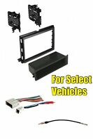 Car Truck Stereo Radio Install Dash Mount Face Trim Kit Combo For Select Ford