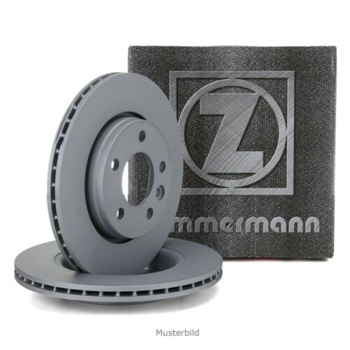 ZIMMERMANN Bremsscheiben Satz Mercedes W124 200E 230E 200//250//300D vorne