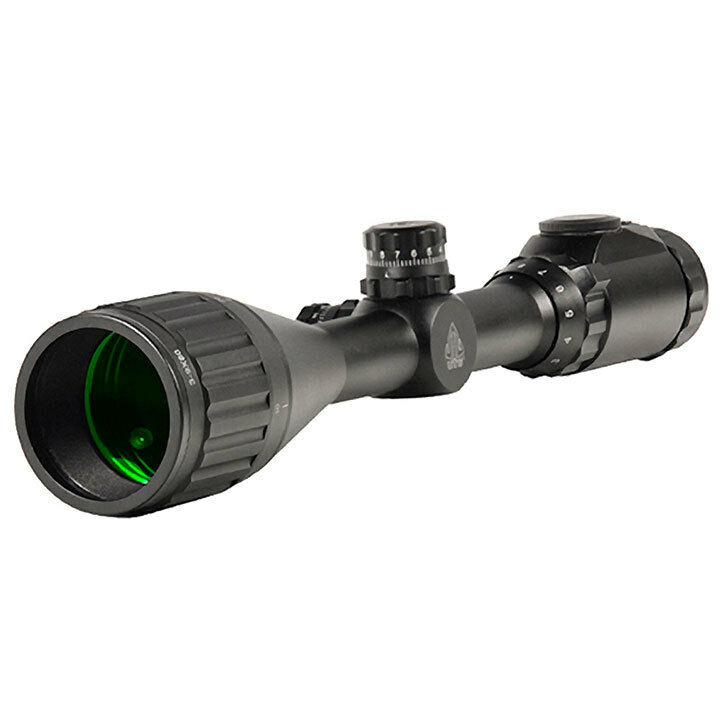UTG SCPU395AOIEW 3-9X50 1 Hunter Scope Ao 36-color Mil-Dot W  Rings