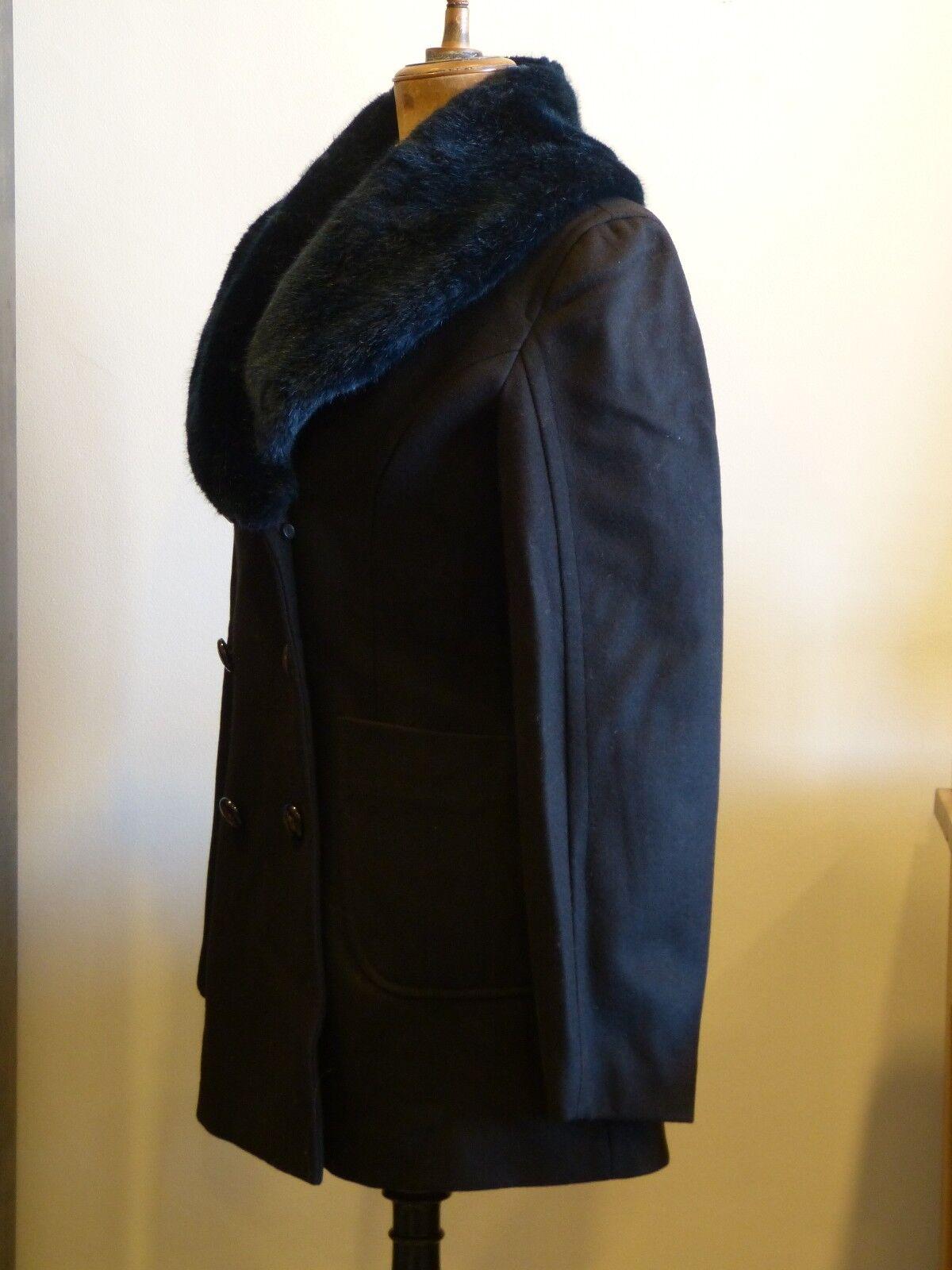 SUPERBE MANTEAU black VIVIENNE WESTWOOD WESTWOOD WESTWOOD size 40 42 44 EN PARFAIT ETAT 8008ca