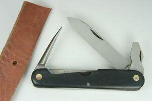 Hubertus Professional Pocket Knife W Awl Punch