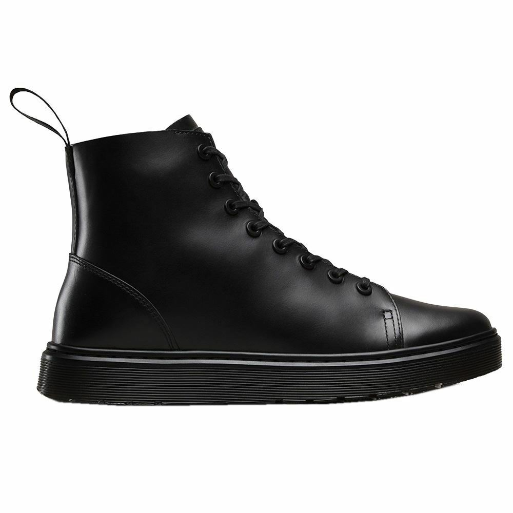 Dr.Martens Talib 8-Eyelet Brando Black Womens Boots