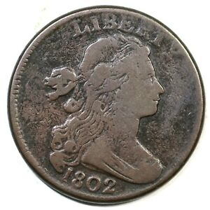 1802-S-232-R-2-Stems-Draped-Bust-Large-Cent-Coin-1c