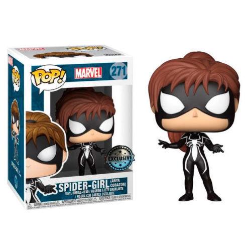 Marvel - spider-girl (anja corazon) exclusif funko pop 'en vinyle   271