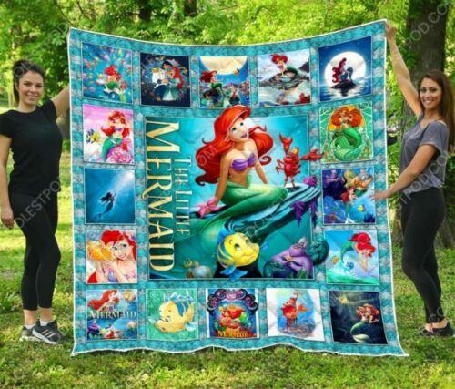 The Little Mermaid Quilt Blanket