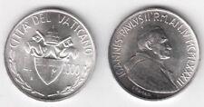 1982 Vaticano Lire 1000 Argento Giovanni Paolo II Anno IV Fior Di Conio UNC