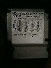 Vw Golf 5 Airbag SRS ECU Module Sensor 1K0909605N NO CRASH DATA