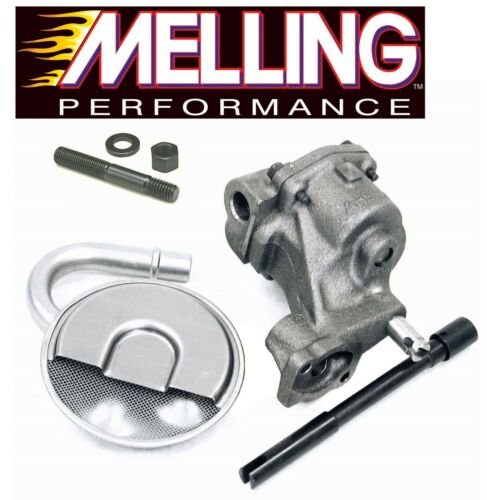 MELLING M55 Oil Pump+Pickup Screen+Drive Shaft+Stud for Chevy SBC 327 350 400